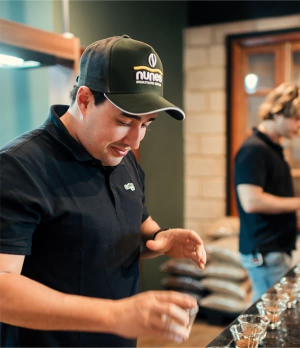 Pedro Brás Q-Grader da Coffee++