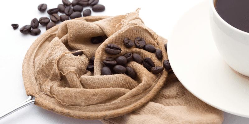 como fazer café coado