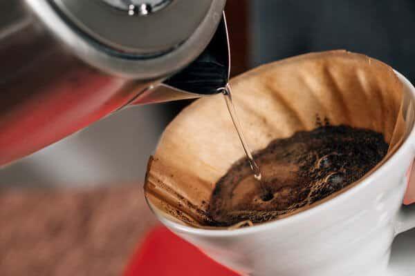 o que é borra de café
