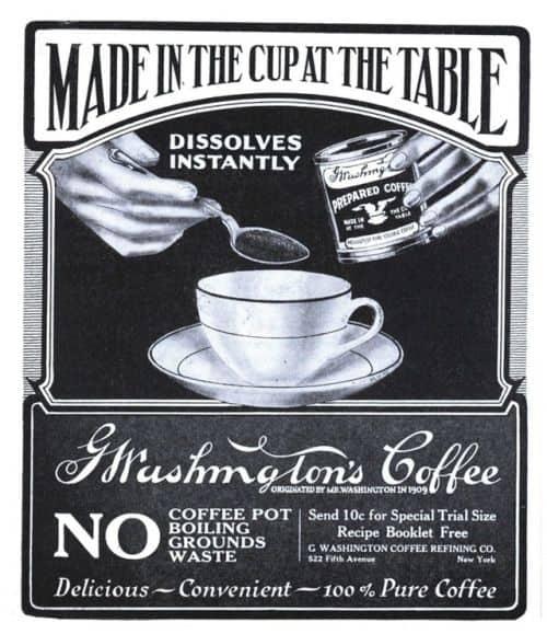 o que é café solúvel